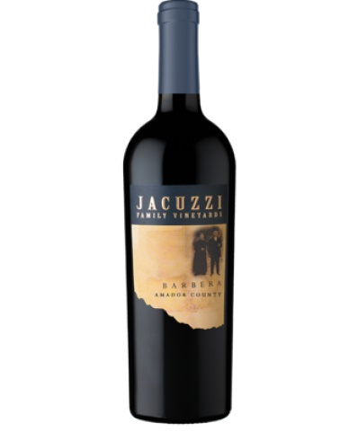 Jacuzzi Family Vineyards Barbera 2012