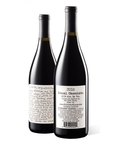 Slo Down Wines Sexual Chocolate Red 2018