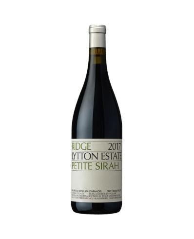 Ridge Vineyards Lytton Estate Petite Sirah 2017