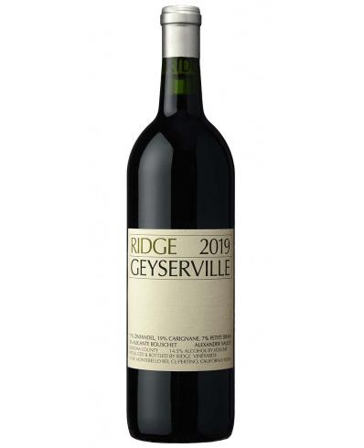 Ridge Vineyards Geyserville 2019