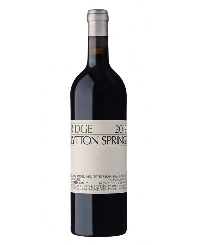 Ridge Vineyards Lytton Springs 2019