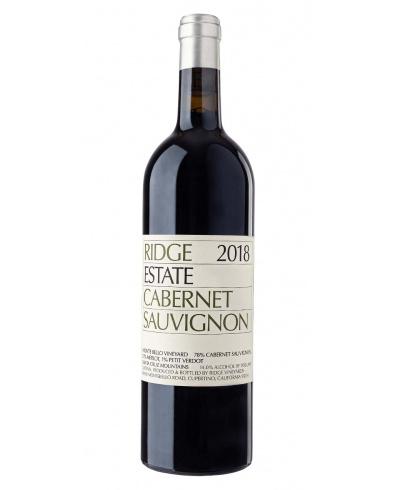 Ridge Vineyards Estate Cabernet Sauvignon 2018