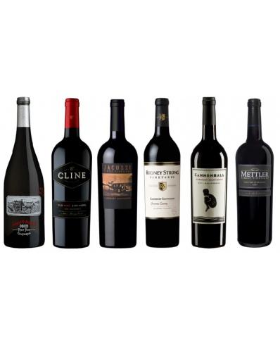 Degustační balíček 6 červených vín