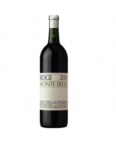 Ridge Vineyards Monte Bello 2018